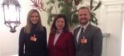 Dipl.-Psych. Martin Simmel und Dipl.-Betriebswirtin Beate Wassmer zu Besuch bei MdB Gudrun Zollner in Berlin