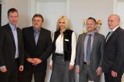 """Pressekonferenz der Initiative """"Gesunde Unternehmen Bayern"""""""