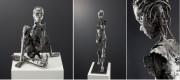 """Vernissage """"Skulpturen geschmiedet, geschweißt, geflext"""" mit Bildhauer Karl Orth aus Poing am 14. Oktober 2015"""